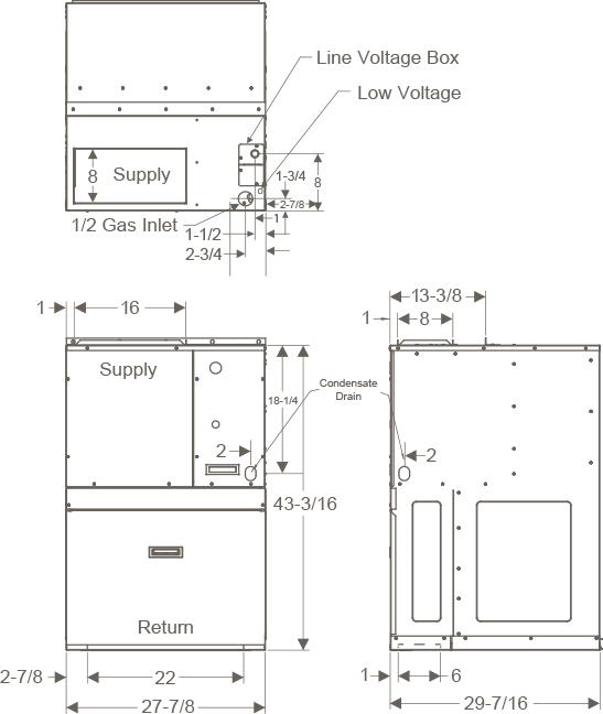 [SCHEMATICS_4LK]  HWC | V-Series | Single Packaged Vertical Unit | Magic-Pak | Wiring Diagram Heat Magic |  | Magic-Pak